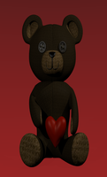 Valentines Teddy by Autonomous-Ink