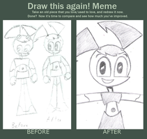 Draw This Again meme - Jenny by Retsof-Noraa