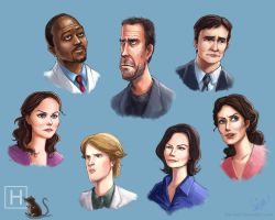 Cast of House by Hahnsel