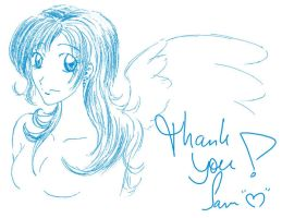 Thank you all my dear friends by Ephourita