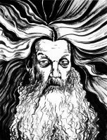 Alan Moore, the Shaman by SergiyKrykun