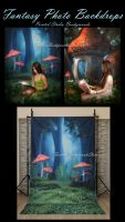 Fantasy Photo Background by moonchild-ljilja