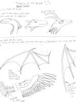 Dragon Head and Wing tutorial by CrescentFang16