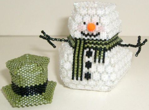 Snowman Box 2 - SOLD by JustBelieveCreations