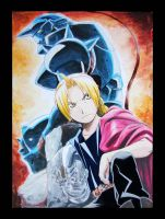 Full Metal Alchemist by burning-pencil