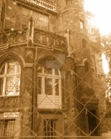 Old ?vampire? castle part by Tuile-jewellery