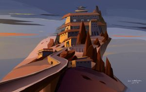 Monastery by evelmiina