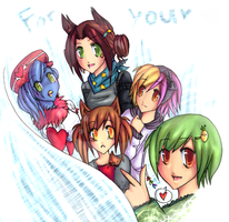 Group pic -FINISHED VERISION- by Dead-dream