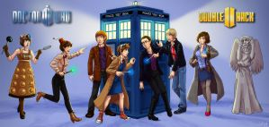 Doctor Who Genderswap - for DoubleBack II by Wilkoak