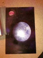 Second Planet Spray Paint by annaesthesia
