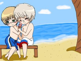 APH- Last Days of Summer by SasoXKanklover666