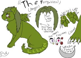 Angel/The Forgotten Ref Sheet by Fwuffywolf