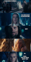 The Lord of the Rings - Tell me where is Gandalf.. by yourparodies