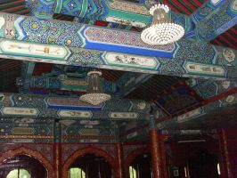 The Niujie Mosque - Worship Hall 14 by Nayzak