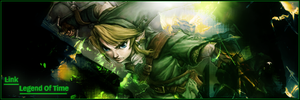 The Legend Of Time, Link. by GreenMotion