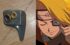 Deidara Eye Scope by catnip23