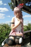 peacefull moment Serah Farron by memoire-hana