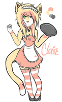 Claire the Cat by Wuhv
