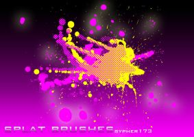 Splat Brushes by sypher173