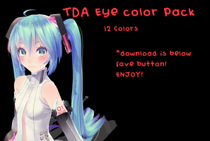 TDA Eye Color Pack by KarakuriSix