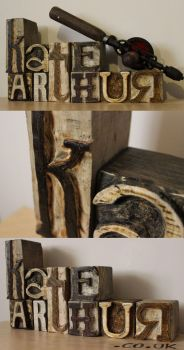 Wooden Block Promotion by kate-arthur