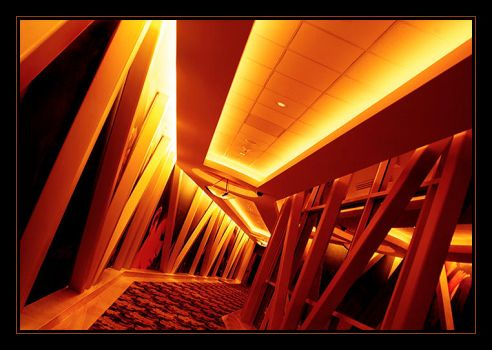 hallway to hell by lorrainemd