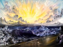 sunburst shores by Redford-1Scapeartist
