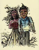 Zombies by Dinuguan