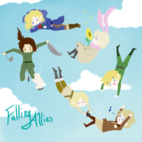 Falling Allies by ApocalypticQuartet