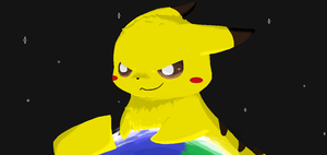 Pikahahaha by evilpuppet109