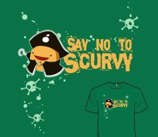Woot Shirt - Say No To Scurvy Returns by fablefire