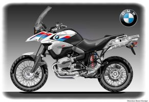 BMW GS 1250 R by obiboi