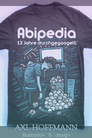 Abipedia tee black by AxXxL-ART