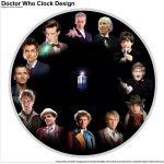 Doctor Who Clock Design by jzak2392