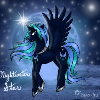 Nightwater Star by CelestialRainfall