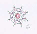Spirograph Drawing by jmralls2001