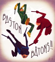 Bastons by Andry-Shango
