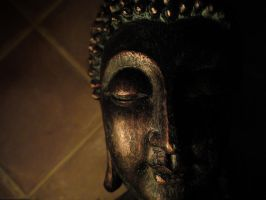 Buddha by Candlelight 2 by nemesisenforcer