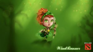 CHIBI DOTA 2 - WINDRUNNER by hothanhlamleok