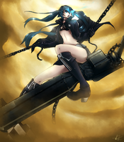 Black Rock Shooter by eki-kei