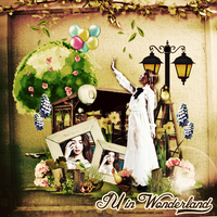 [Free Size] IU in Wonderland by jangkarin