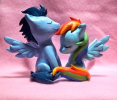 Soarin and RD Sculpt by CadmiumCrab