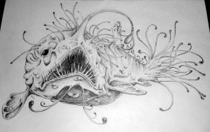 Anglerfish by Nerissien