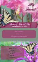 Butterfly Journal Skin by JeffrettaLyn