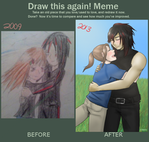 Improvement meme by shadowxneji