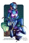WOW - Draenei - space invader by Morgan-chane