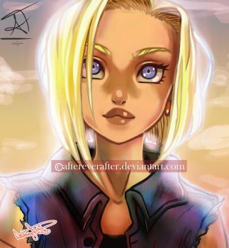 Android18 by AfterEverAfter