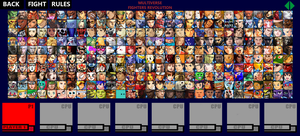 Multiverse Fighters Revolution Roster (Page 5) by SuperMaster10
