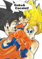 Goku and cacalot by Natsuhati