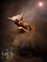 BJD inspired ballerina B by cdlitestudio
